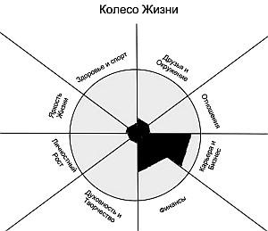 Рис. 2. Колесо Жизни Глеба